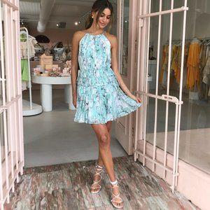 THURLEY Triton Aquafoam Mini Dress NWT RRP$499